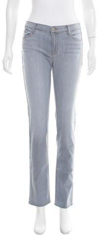 J BrandJ Brand Mid-Rise Straight-Leg Jeans w/ Tags