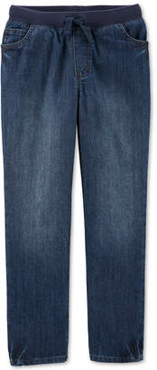 Carter's Carter Big Boys Cotton Elastic Waist Jeans