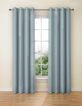 Marks and Spencer Banbury Weave Eyelet Curtains