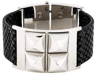 Michael Kors Leather Studded Bangle