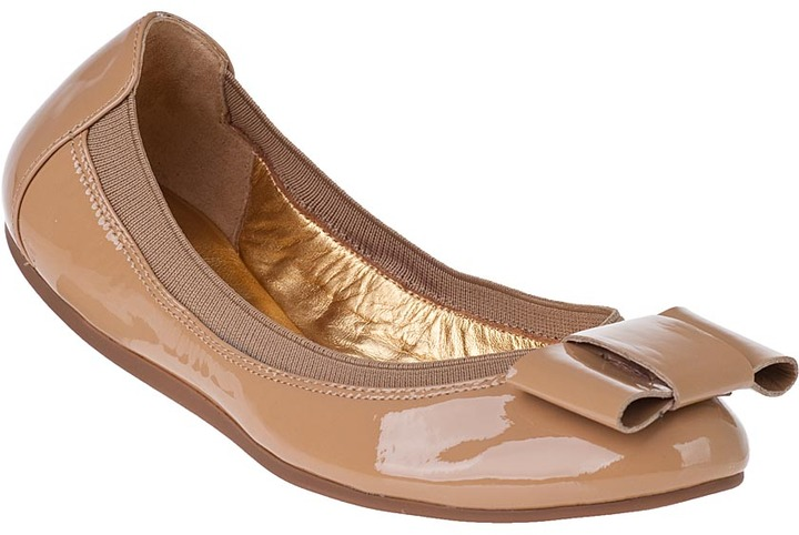Kate Spade Felice Ballet Flat Biscuit Patent