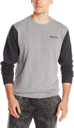 RVCA Men's Circle Type Crew Sweatshirt