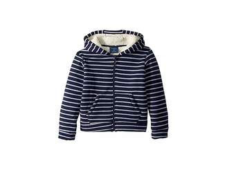 Toobydoo Fleece Lined Stripe Hoodie (Toddler/Little Kids/Big Kids)