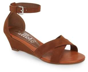 Callisto Strobe Wedge Sandal