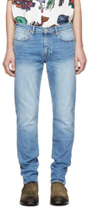 Paul Smith Blue Tapered Fit Jeans