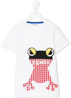 Fendi frog patch T-shirt