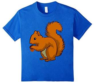 Squirrel T-Shirt Nutty Acorn Rodent Fury Tail Creature