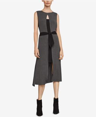 BCBGMAXAZRIA Two-Tone Tunic Dress