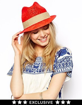 Catarzi Exclusive to ASOS Summer Trilby