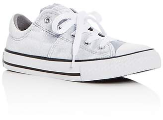 Converse Girls' Chuck Taylor All Star Madison Velvet Lace Up Sneakers - Toddler, Little Kid, Big Kid