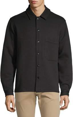 Tiger of Sweden Anthrax Cotton-Blend Jersey Long Sleeve Shirt