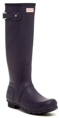 Hunter Stripe Waterproof Rubber Boot