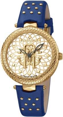 Roberto Cavalli by Franck Muller Costellato Strap Watch