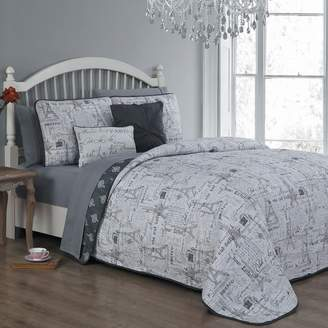 Blush Lingerie Belle 9-piece Quilt Bedding Set