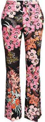 Just Cavalli Printed Twill Straight-Leg Pants