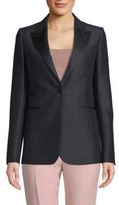Valentino Classic Long-Sleeve Jacket
