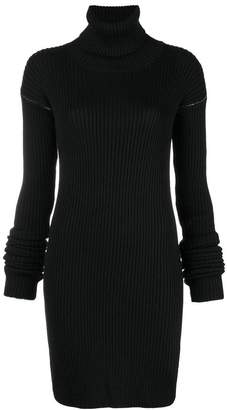 MM6 MAISON MARGIELA gauge ribbed dress