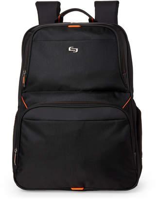 N. Solo Black Thrive Laptop Backpack
