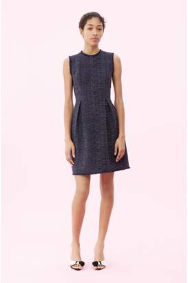 Rebecca Taylor Rainbow Tweed Dress