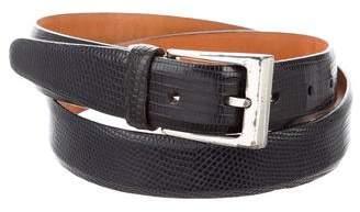 Martin Dingman Lizard Buckle Belt