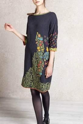 Ivko Intarsia Pattern Dress