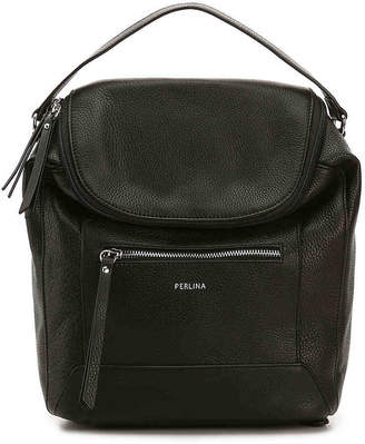Perlina Drew Leather Backpack - Women's