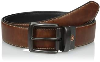 Levi's Men's Reversible Casual Belt with Stitch Edge