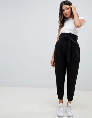 Asos Design DESIGN high waist balloon tapered trousers