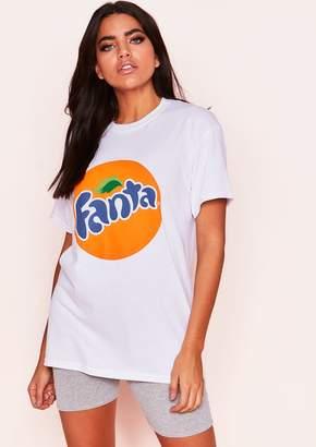 f84aef07 Missy Empire Missyempire Zoey White Orange Graphic T-Shirt