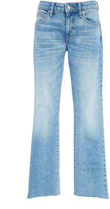 SLVRLAKE Denim Scarlett Mid-Rise Slim Flared Jeans