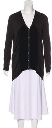 Zero Maria Cornejo Wool Button-Up Cardigan