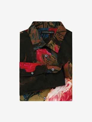 Alexander McQueen Painted Rose Shirt
