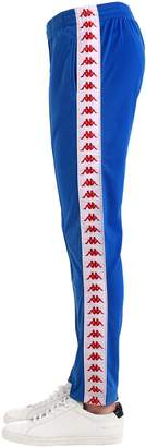 Kappa Tape Logo Track Pants