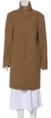 Barneys New York Barney's New York Wool Knee-Length Coat
