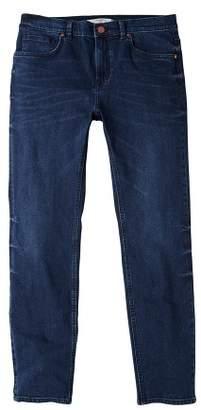 Mango man MANGO MAN Slim-fit faded dark wash Jan jeans