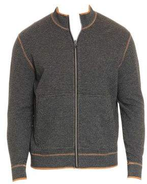 Robert Graham Ando Zip Cotton Sweater
