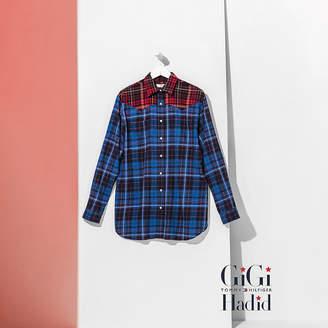 Tommy Hilfiger Tartan Flannel Shirt Gigi Hadid