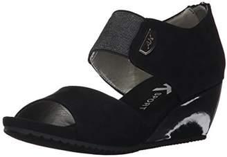 Anne Klein AK Sport Women's Carisma Fabric Wedge Sandal