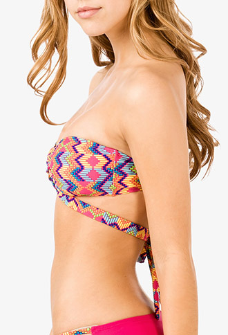 Forever 21 Multi-Wear Bandeau Bikini Top