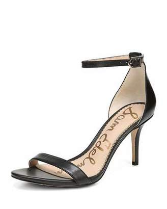 Sam Edelman Patti Leather Ankle-Strap Sandal