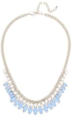 Wild Lilies Jewelry Blue Statement Necklace
