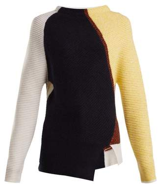 Sportmax Liegi Sweater - Womens - Navy Multi