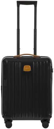 Bric's Capri Trolley Suitcase - Black/Tobacco - 55cm