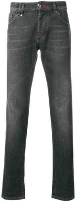 Philipp Plein Dirty Denim jeans