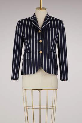 Thom Browne Striped wool blazer