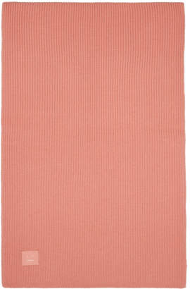 Acne Studios Pink Bansy Face Scarf