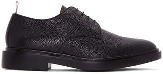 Thom Browne Black Rubber Sole Derbys