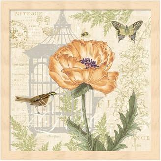 Metaverse Art Floral Nature Trail I Framed Wall Art