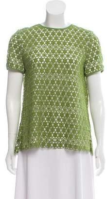Tory Burch Crochet Linda Top w/ Tags