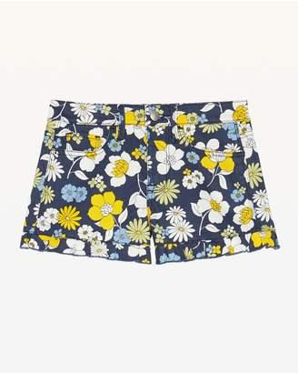 Juicy Couture Garden Floral Denim Short for Girls